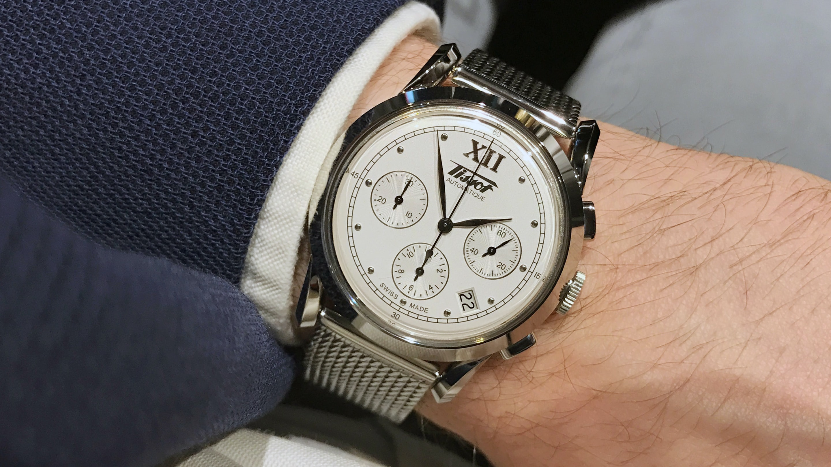 Introducing The Tissot Heritage 1948 Chronograph Live