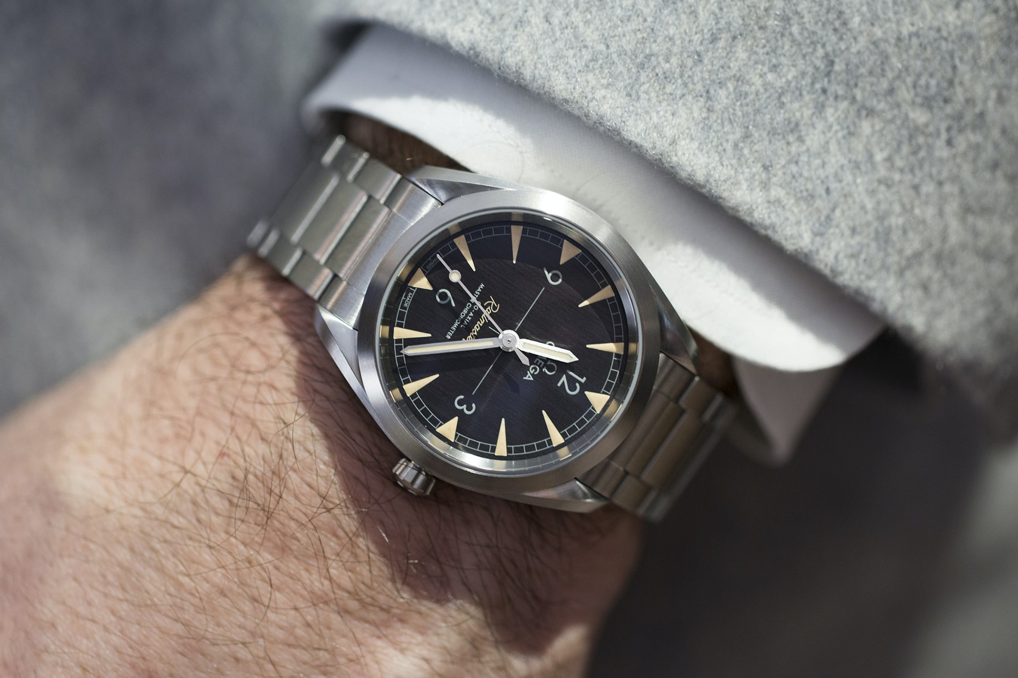 Introducing The New Omega Railmaster Collection And A