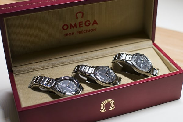 Omega trilogy set