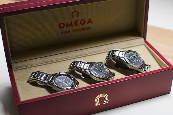 Omega trilogy set