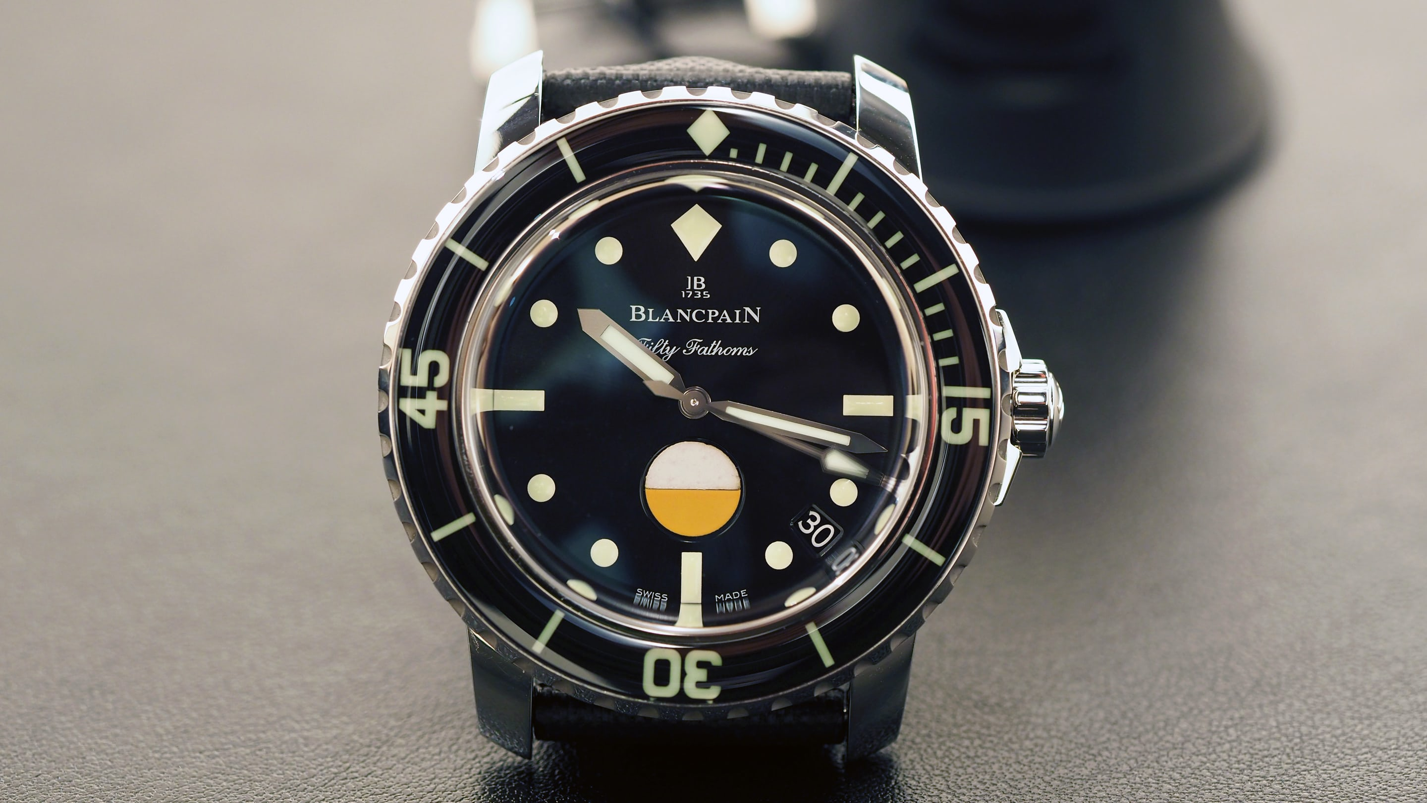 Introducing The Blancpain Tribute To Fifty Fathoms Mil Spec Live
