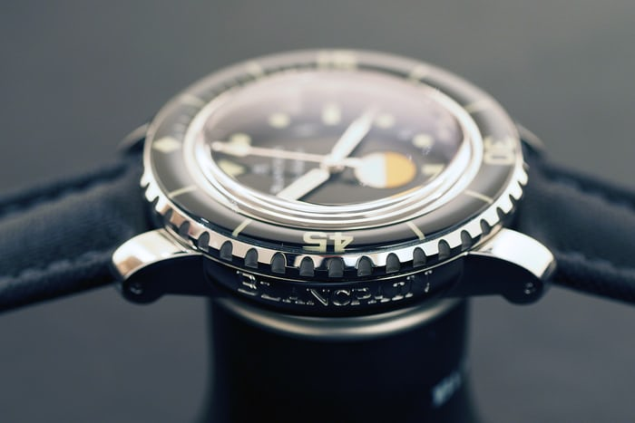 blancpain tribute to fifty fathoms milspec