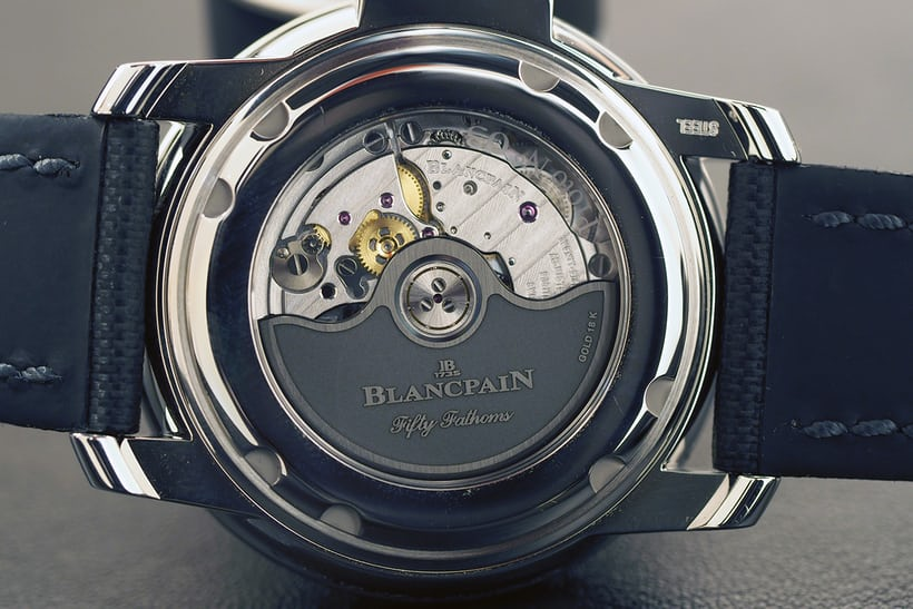 blancpain fifty fathoms milspec tribute