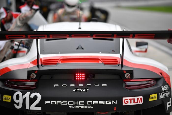 911 RSR Porsche tailfin