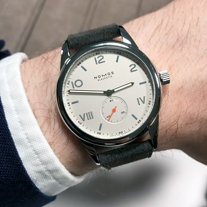 club campus nomos glashutte california dial