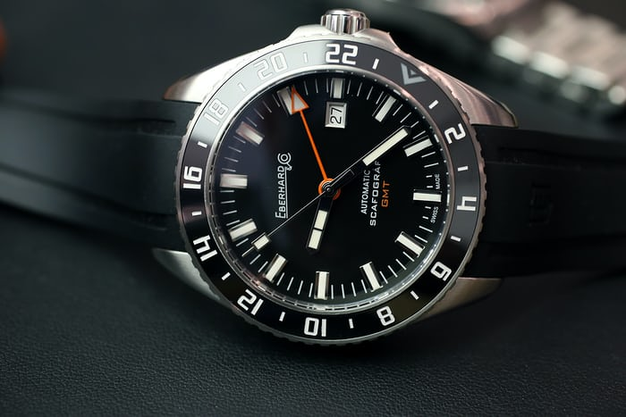 The Eberhard Scafograf GMT