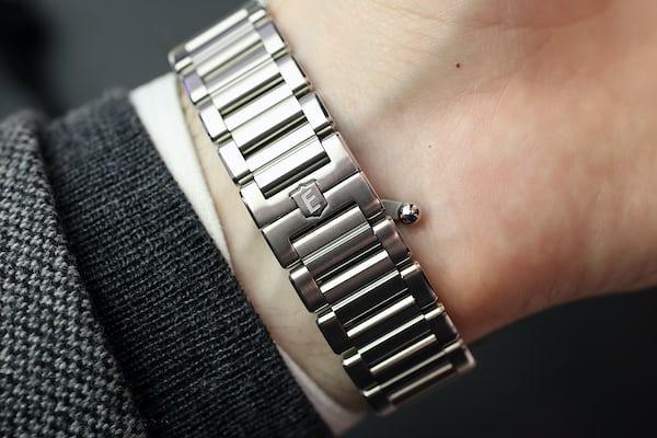Eberhard Scafograf GMT bracelet clasp