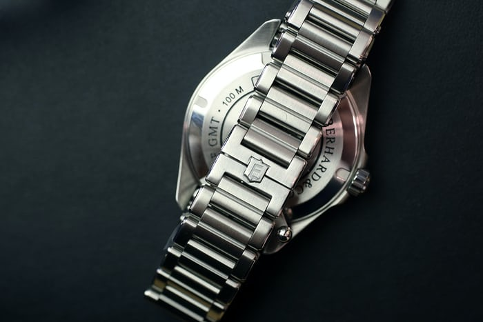 Eberhard Scafograf GMT bracelet