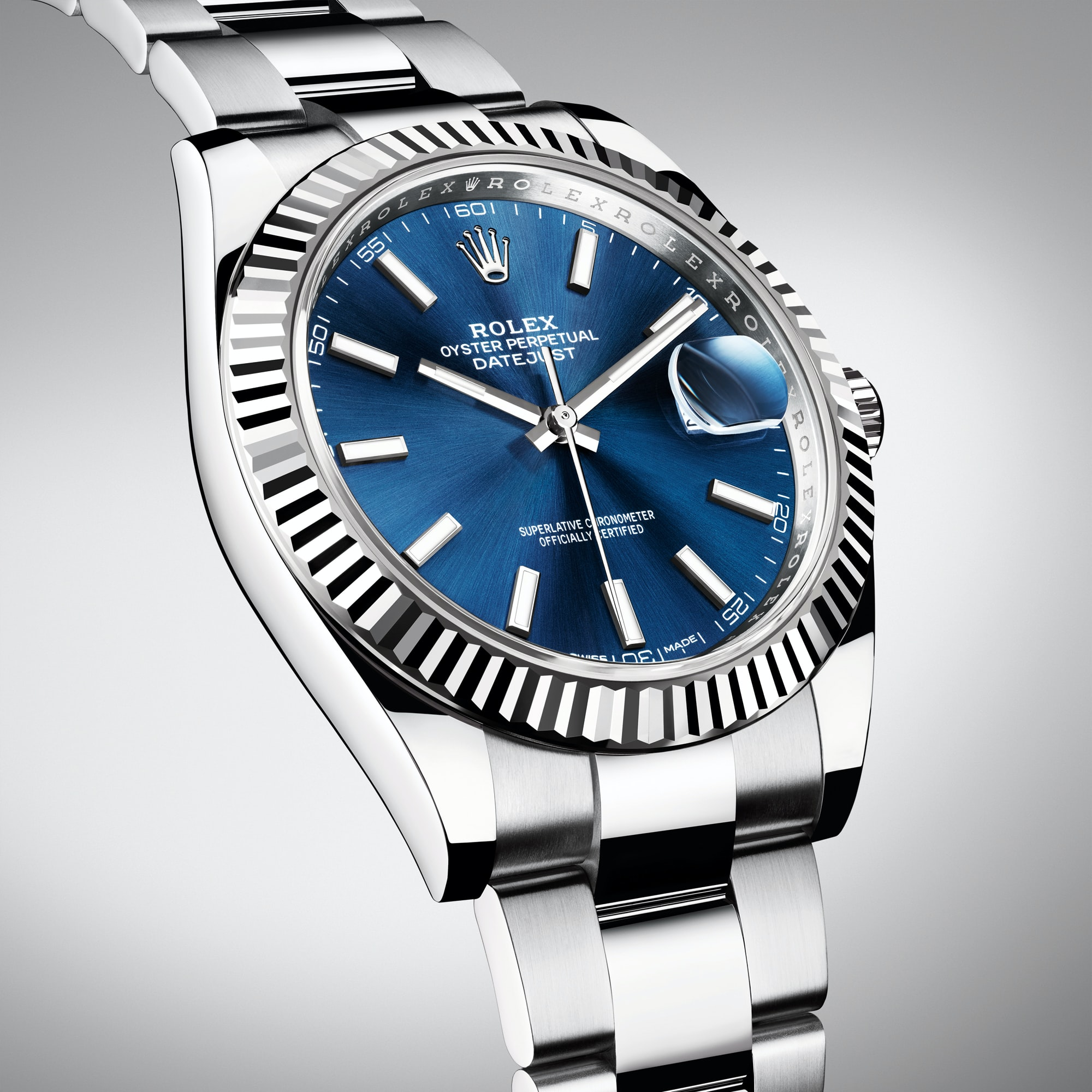 Introducing The Rolex Datejust 41, Now In Stainless Steel