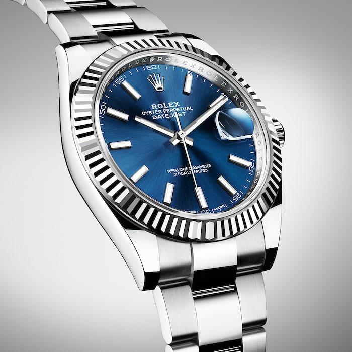 Rolex Datejust 41 Blue Price
