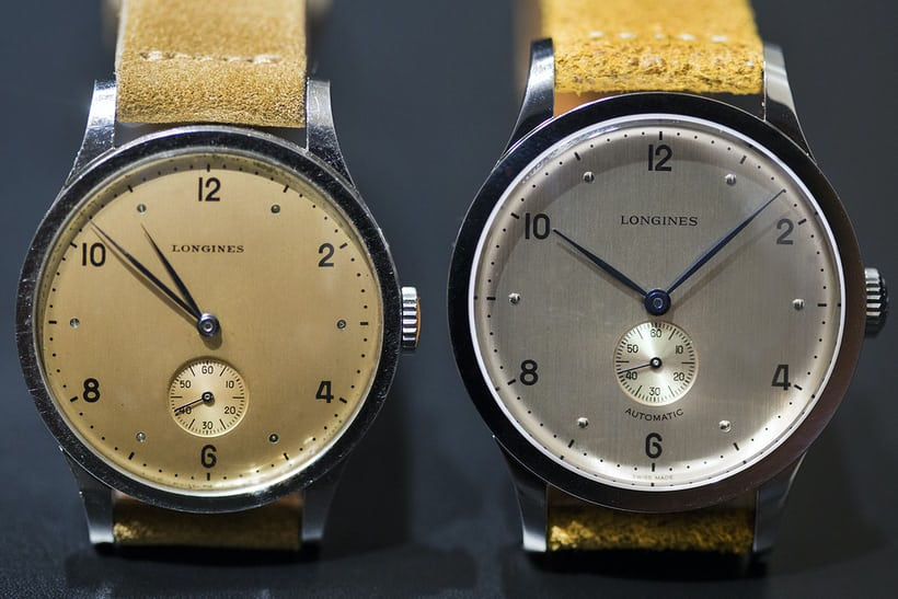 Longines Heritage 1945 comparison