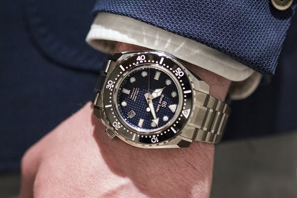 Grand Seiko dive watch