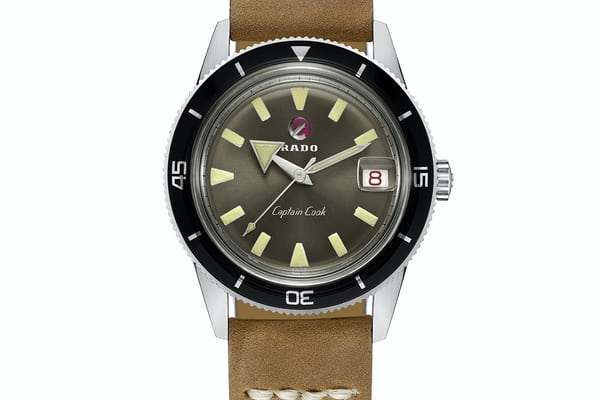 rado captain cook vintage