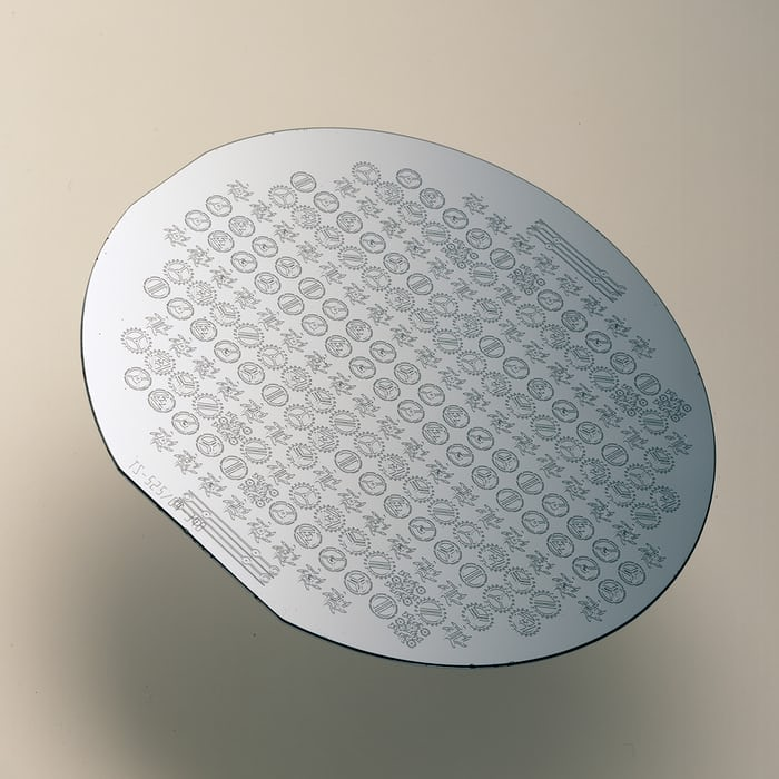 silicon wafer watch components