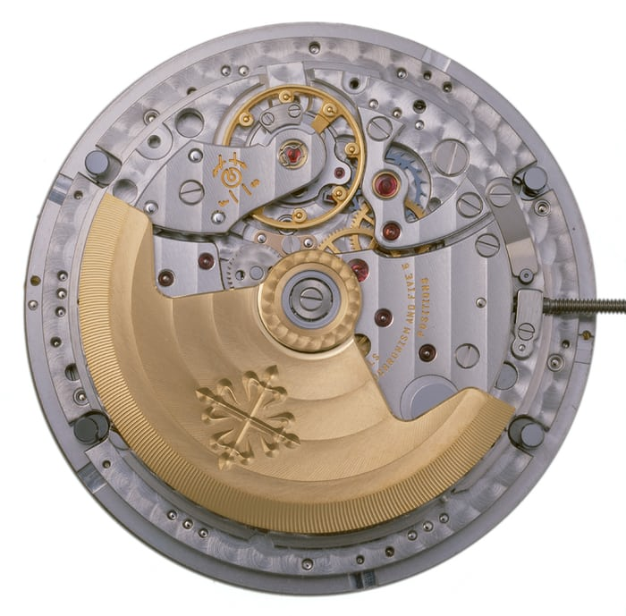 The first Advanced Research movement, caliber 315 S IRM QA LU.