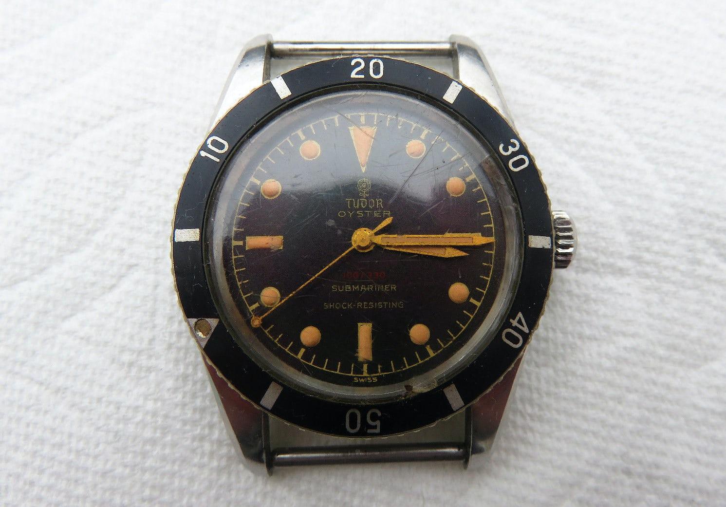 ef4a98cf9e1 Breaking News  Tudor Ref. 7923 Submariner Sells For  99