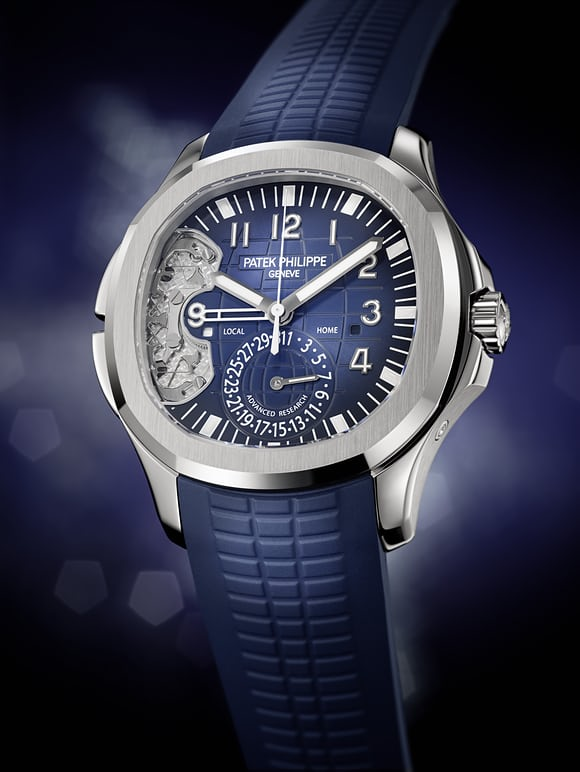 "The Aquanaut Travel Time Ref. 5650G ""Patek Philippe Advanced Research"" lifestyle image"