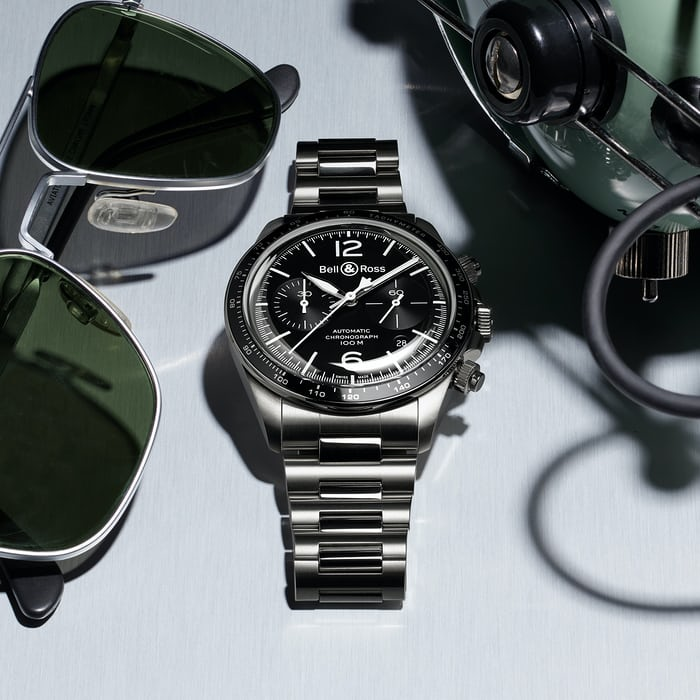 BR V2-94 bell and ross chronograph