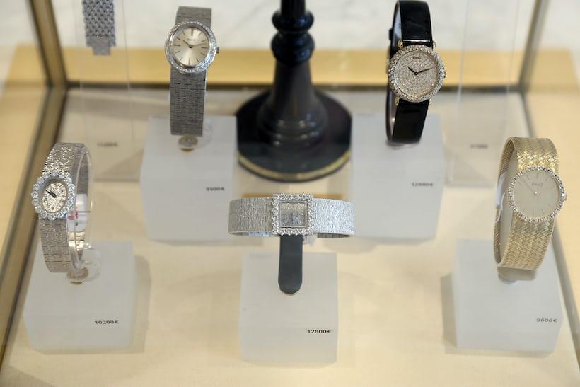 <p>A selection of Vacheron Constantin models.</p>