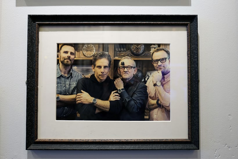 Ben Stiller has visitedJS Watch Company.<p></p>