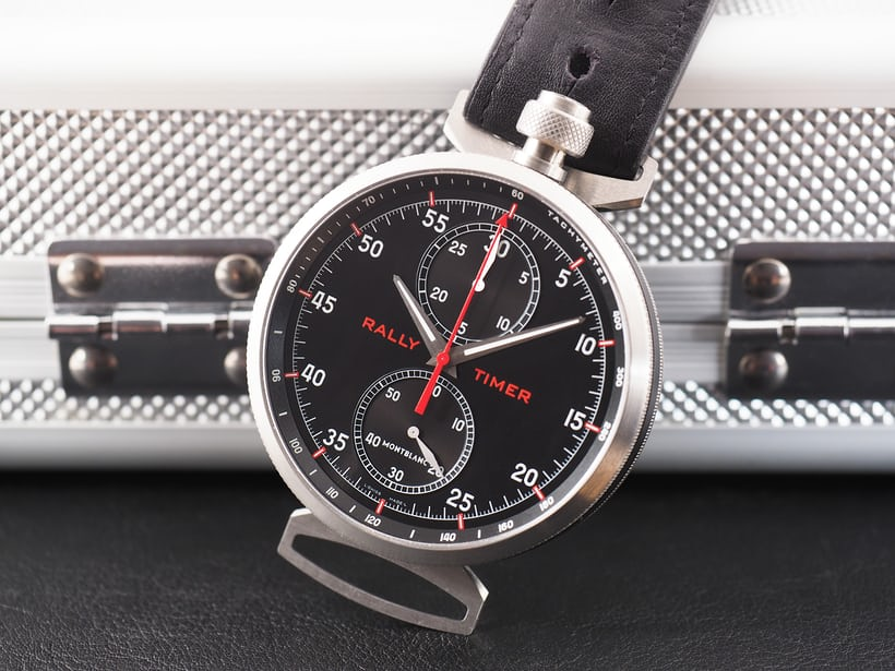 The Montblanc Timewalker Rally Timer 100.