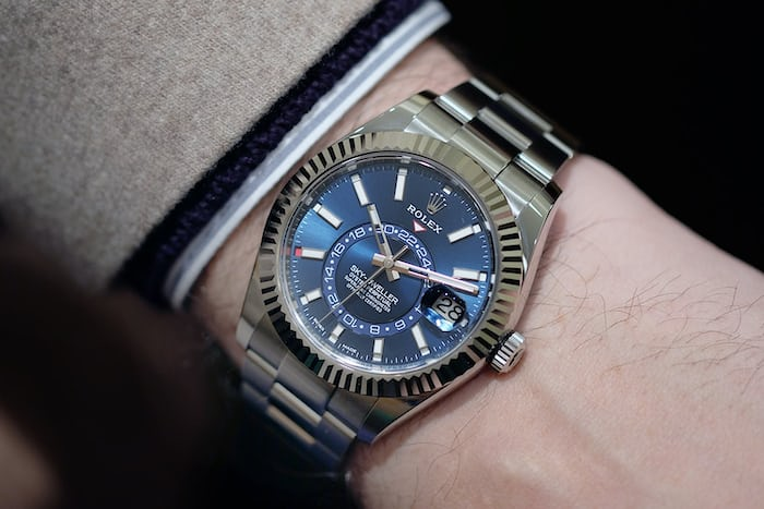 Rolex Sky-Dweller In Steel