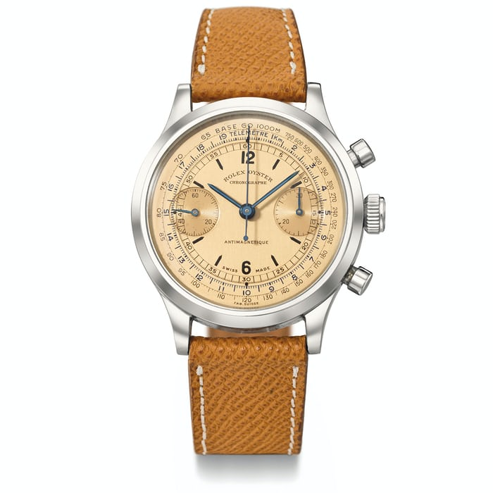Ref. 3525 Chronograph With Salmon Dial