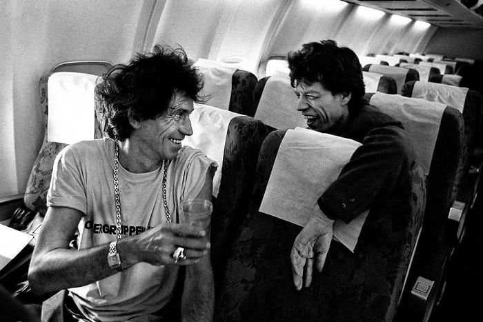 keith richards and mick jagger watches