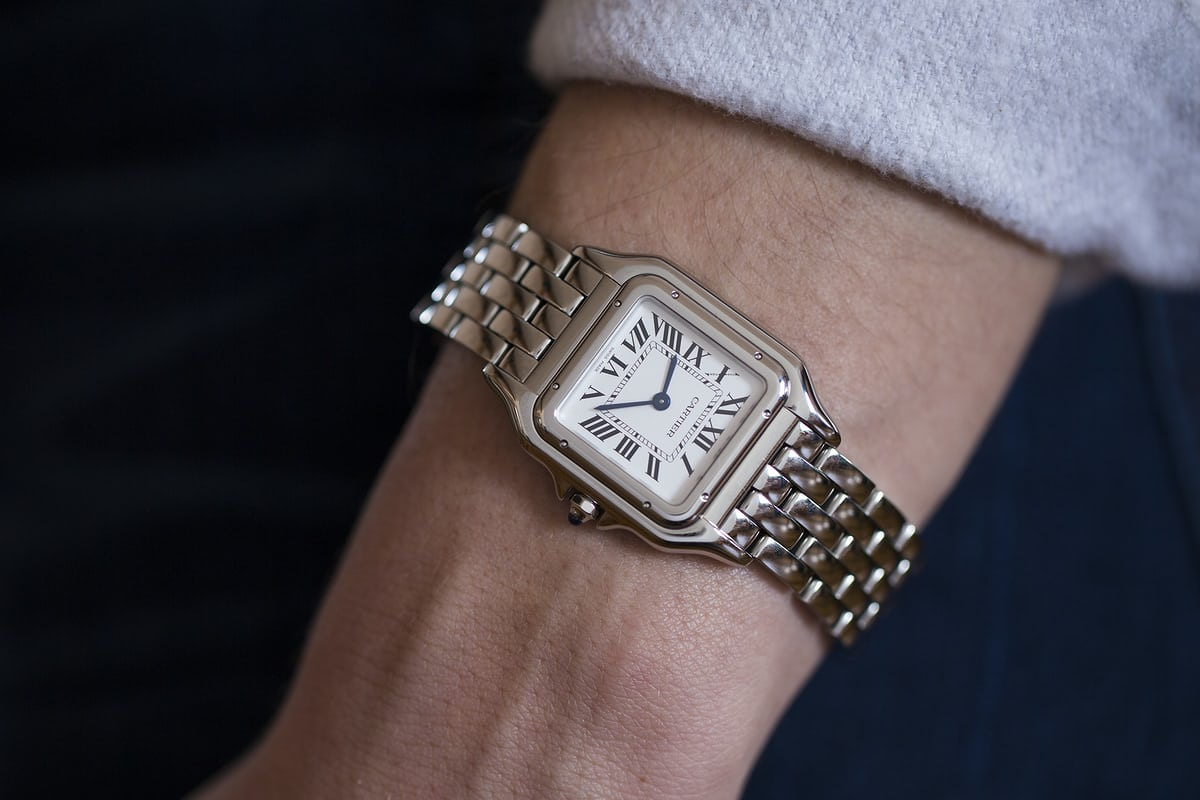 A Week On The Wrist The Panth 232 Re De Cartier Hodinkee