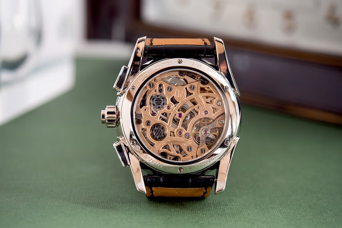 Parmigiani Fleurier Tonda Chronor Anniversaire movement caliber PF361