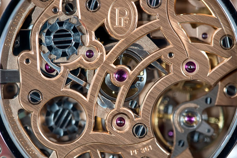 Parmigiani Fleurier Tonda Chronor Anniversaire split mechanism