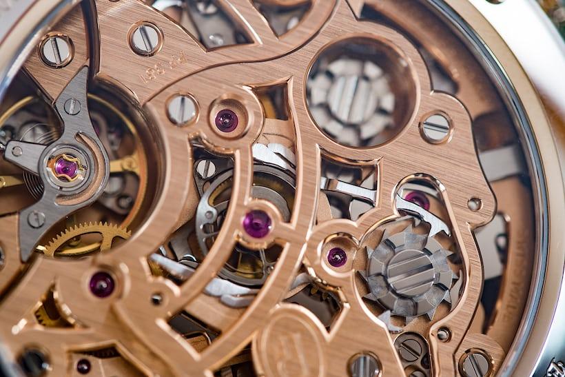 Parmigiani Fleurier Tonda Chronor Anniversaire split seconds column wheel