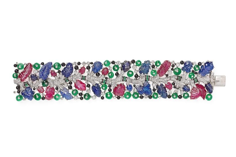 cartier tutti fruitti bracelet