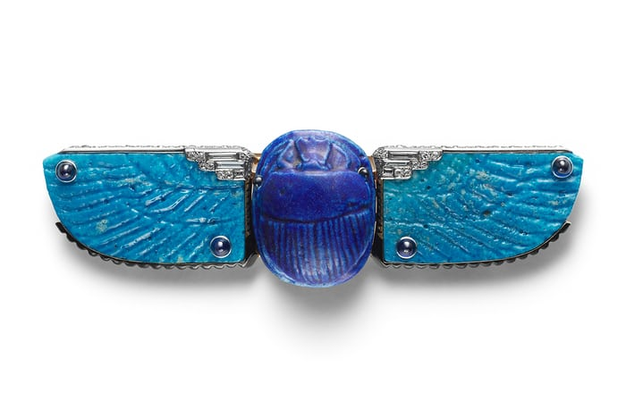 cartier scarab belt
