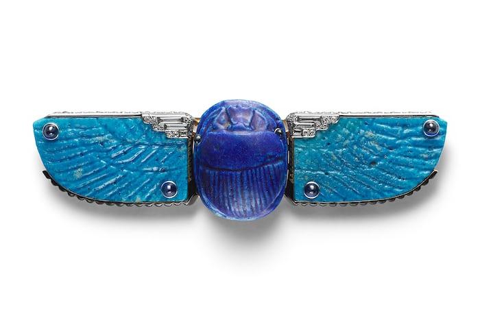 cartier scarab belt