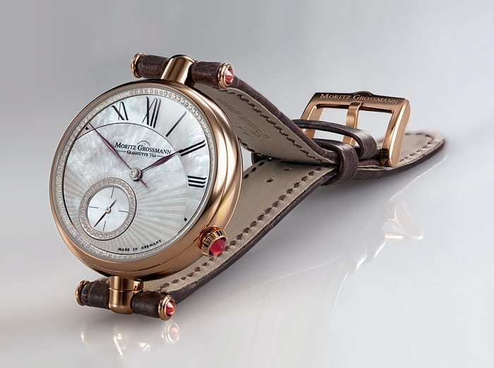 "The Tefnut Twist ""Fancy"" model in rose gold."