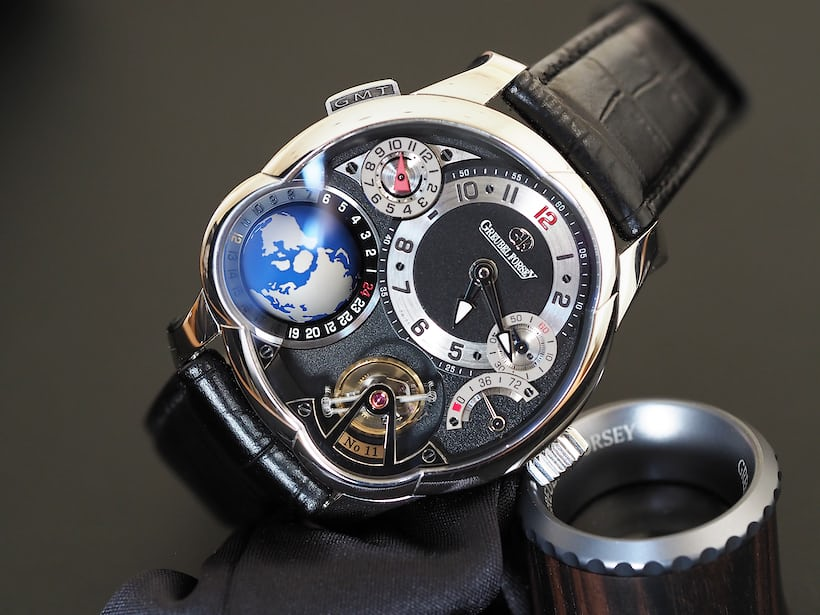 Greubel Forsey GMT in platinum