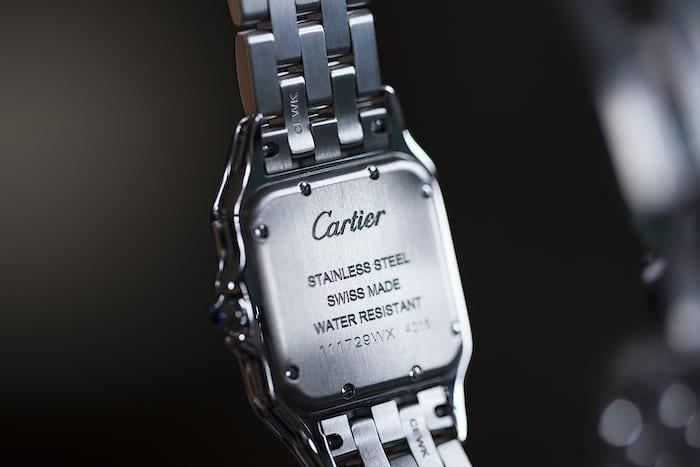 cartier caseback