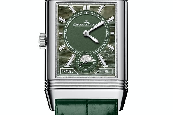 marbled green reverso dial