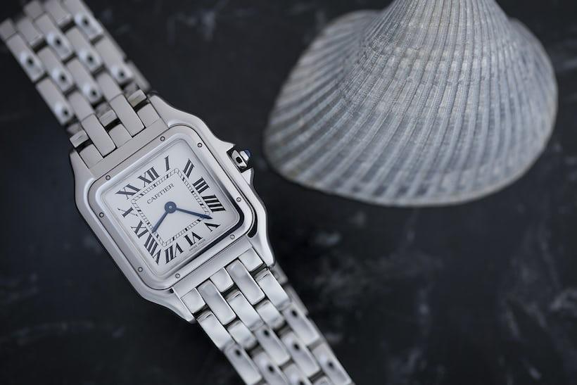 Panthère de Cartier steel