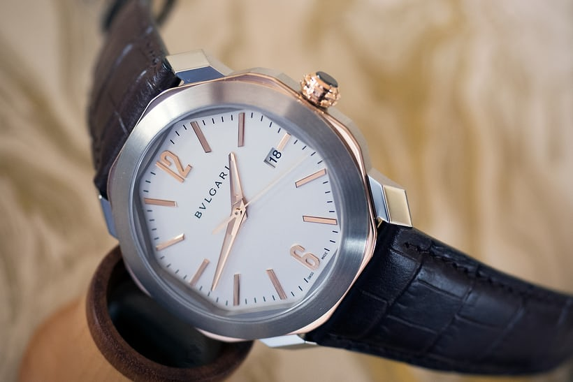 two-tone bulgari octo roma