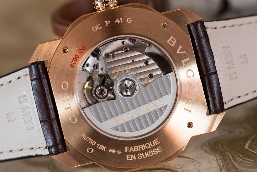 bulgari BVL 193 movement