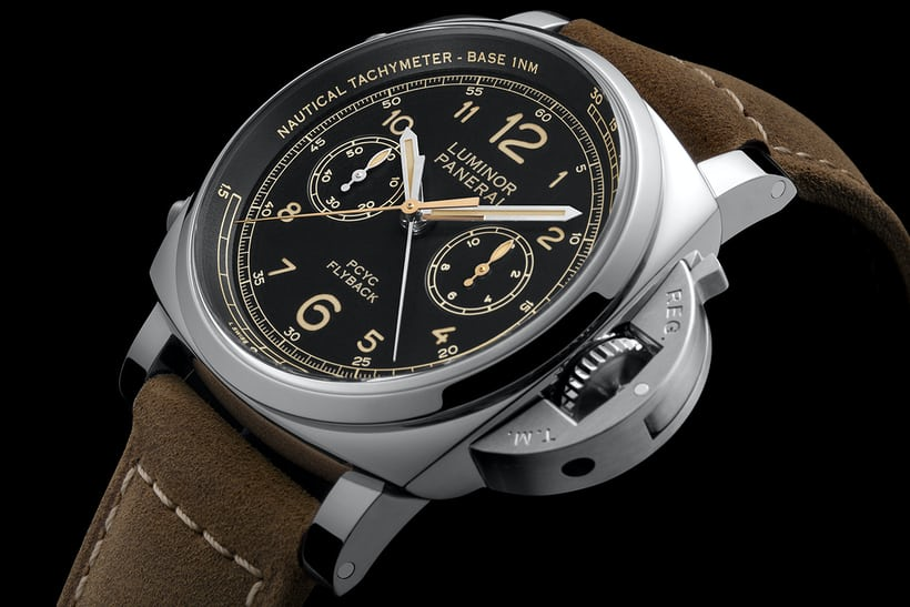 Panerai Luminor 1950 PCYC 3 Days Chrono Flyback Automatic Acciaio pam 653