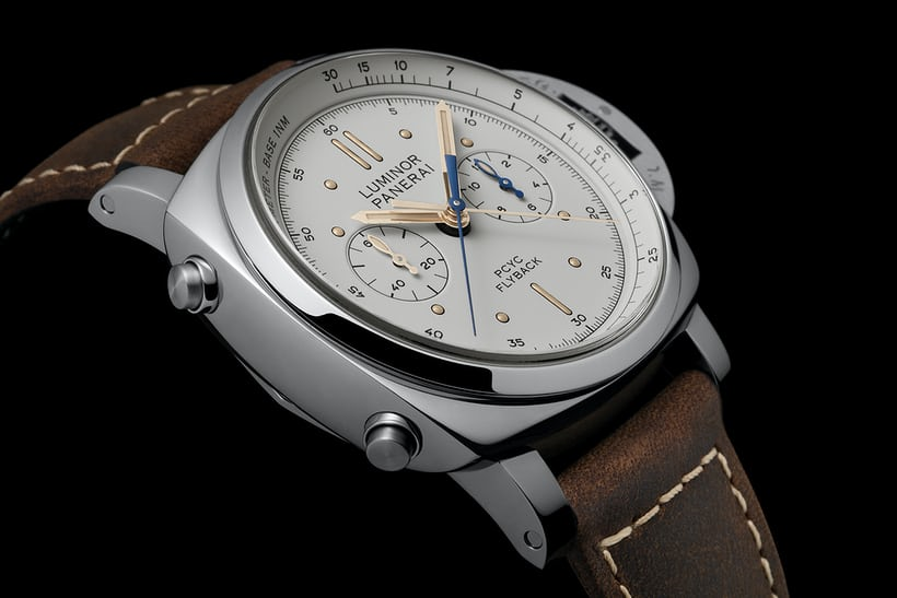 Panerai Luminor 1950 PCYC 3 Days Chrono Flyback Automatic Acciaio pam 654