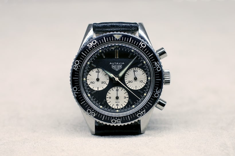 The Heuer Autavia chronograph, circa 1964