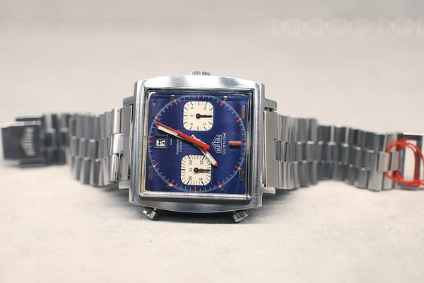 The Heuer Monaco chronograph, circa 1969