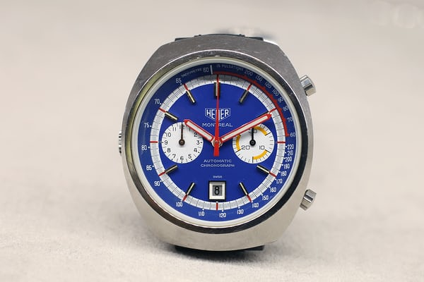 The Heuer Montreal chronograph 1972