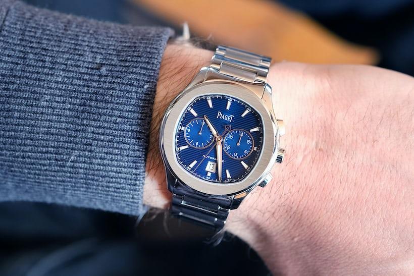 piaget polo s chronograph wristshot