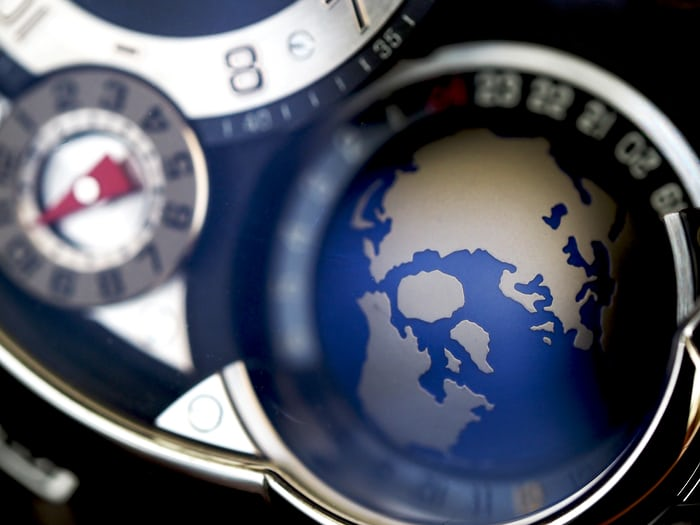 Greubel Forsey GMT globe