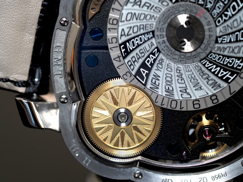 Greubel Forsey GMT sun indication